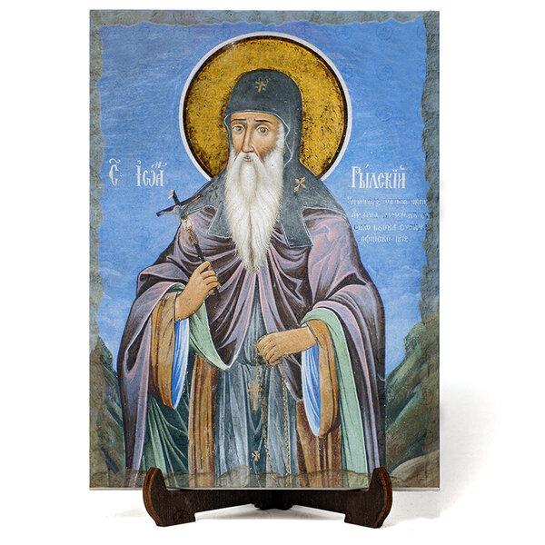 """Икона """"Свети преподобни Йоан Рилски Чудотворец"""" на Врачански Камък №9668"""