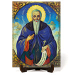 """Икона """"Свети преподобни Йоан Рилски Чудотворец"""" на Врачански Камък 2"""