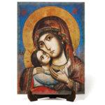 """Икона """"Света Богородица Умиление"""" на Врачански Камък 2"""