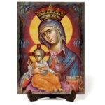 """Икона """"Света Богородица"""" на Врачански Камък 3"""