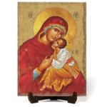 """Икона """"Света Богородица Умиление"""" на Врачански Камък 4"""