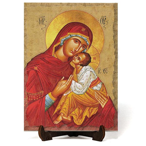 """Икона """"Света Богородица Умиление"""" на Врачански Камък 4 №9673"""