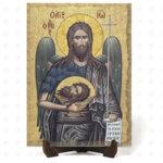 """Икона """"Свети пророк Йоан Кръстител и Предтеча Господен"""" на Врачански Камък 2"""