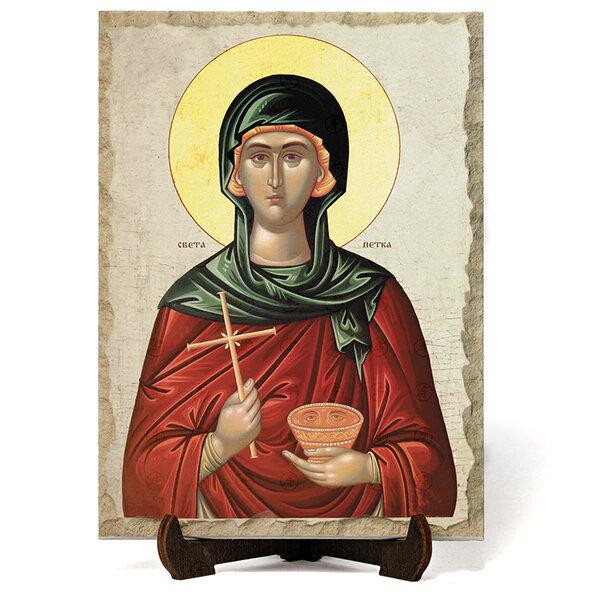 """Икона """"Света Петка"""" на Врачански Камък №9682"""