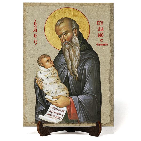 """Икона """"Свети Стилиан """" на Врачански Камък №9684"""