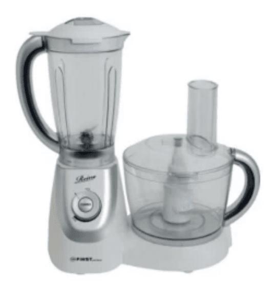 Кухненски робот 5 в 1 First Austria FA-5118-2, 850 W, 2.5 л, Турбо, 4 скорости