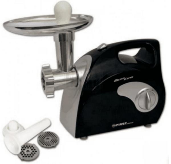 Месомелачка First Austria FA-5143-1, Приставка за колбаси, Нож от неръждаема стомана