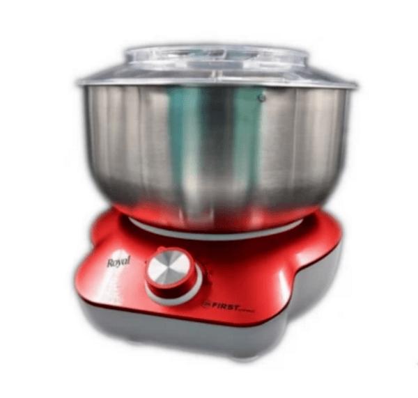 Миксер за тесто First FA-5259-2-RE, 800 W, 2 степени на мощност, 3 приставки, Червен