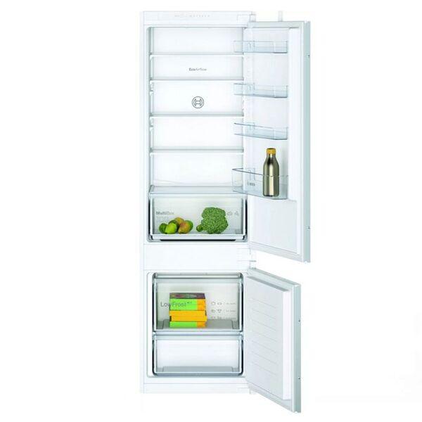Хладилник с фризер за вграждане BOSCH KIV87NSF0