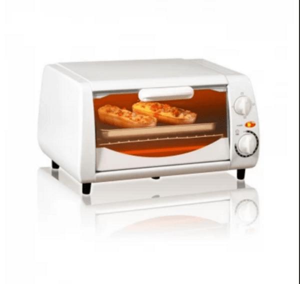 Тостер за сандвичи - фурна SAPIR SP 1441 NW, 600 W, 10 литра, Таймер, бяла