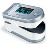 Уред за измерване нивото на кислород в кръвта и сърдечния пулс Пулсоксиметър Beurer PO 60 Bluetooth®