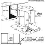 Съдомиялна за вграждане ELECTROLUX EEM43200L