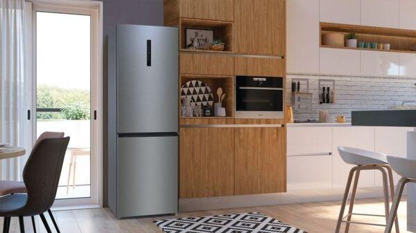 Хладилник с фризер Gorenje NRK6192AXL4 + 5 години гаранция