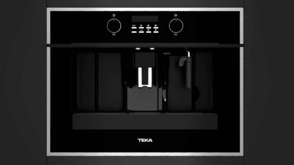 Автоматична кафемашина с кафемелачка, за вграждане TEKA CLC 855 С ИНОКСОВА РАМКА