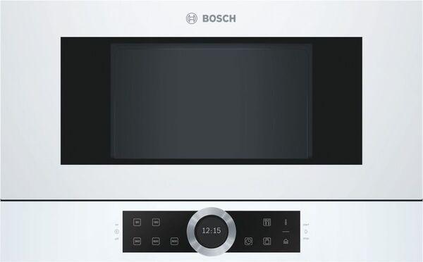 Микровълнова фурна за вграждане Bosch BFL634GW1