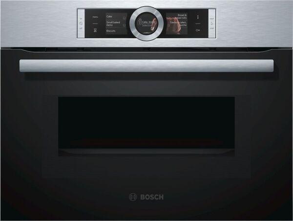 Компактна фурна с микровълни Bosch CMG656BS1
