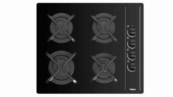 Газов плот върху закалено стъкло ТЕКА GBC 64002