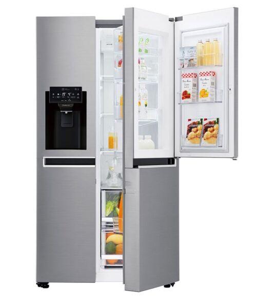 Хладилник с фризер LG GSJ760PZXV