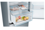 Хладилник с фризер BOSCH KGN39VLEA