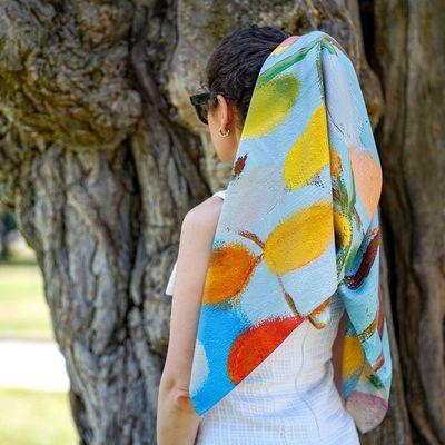 Луксозни дамски шалове 2