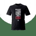 Тениска ''The One and Only'' - черна