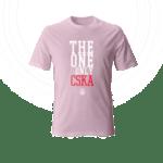 Тениска ''The One and Only'' - розова
