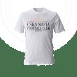 "Тениска ""CSKA Sofia FC Latin"" - бяла"