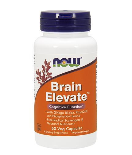 NOW Foods Brain Elevate - 60 капсули
