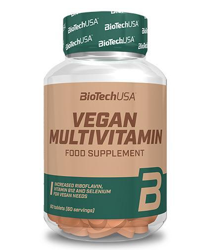 BIOTECH USA Vegan Multivitamin - 60 Tabs