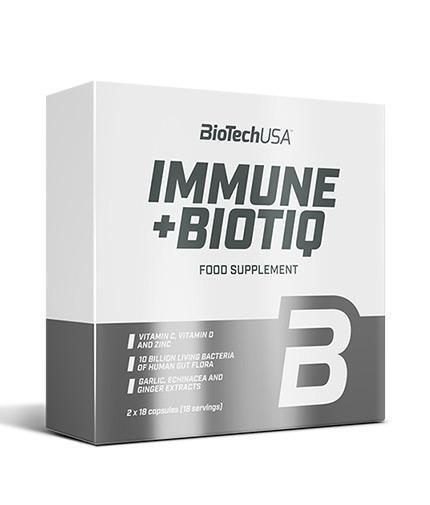 BIOTECH USA Immune + Biotiq -  2 x 18 Caps