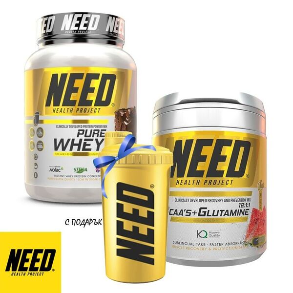 Perfect Fitness  Протеин + Аминокиселини БЦАА + Глутамин