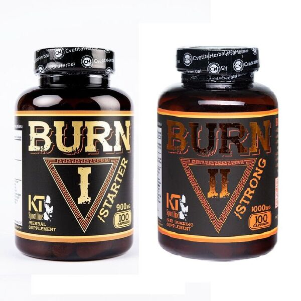 KT SportLine BURN 1 [STARTER]  + BURN 2 [STRONG]