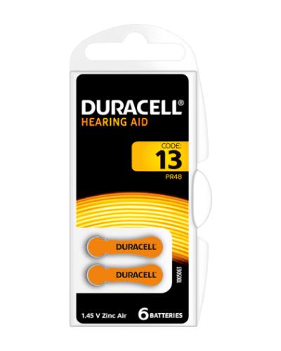 Батерии Duracell размер 13