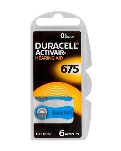 Батерии Duracell размер 675