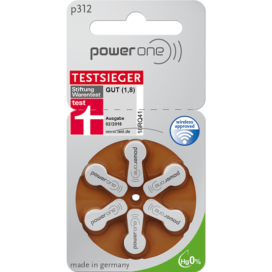 Батерии Powerone размер 312 (PR41)