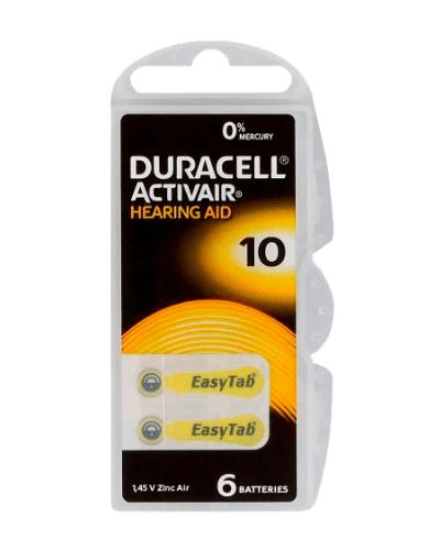 Батерии Duracell размер 10