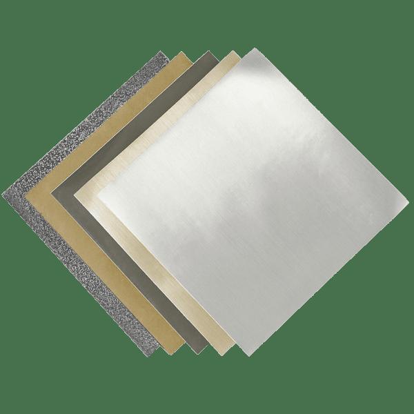 Метализирано фолио на лист