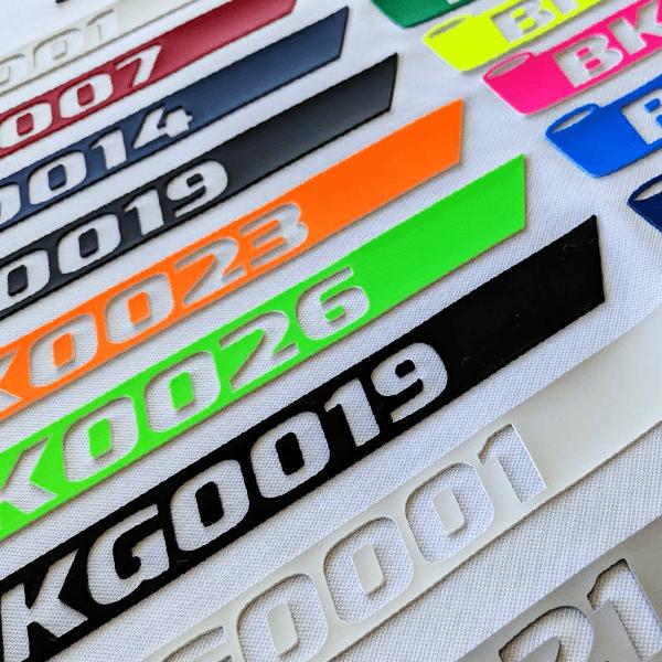 Термотрансферно фолио за текстил с 3D профил
