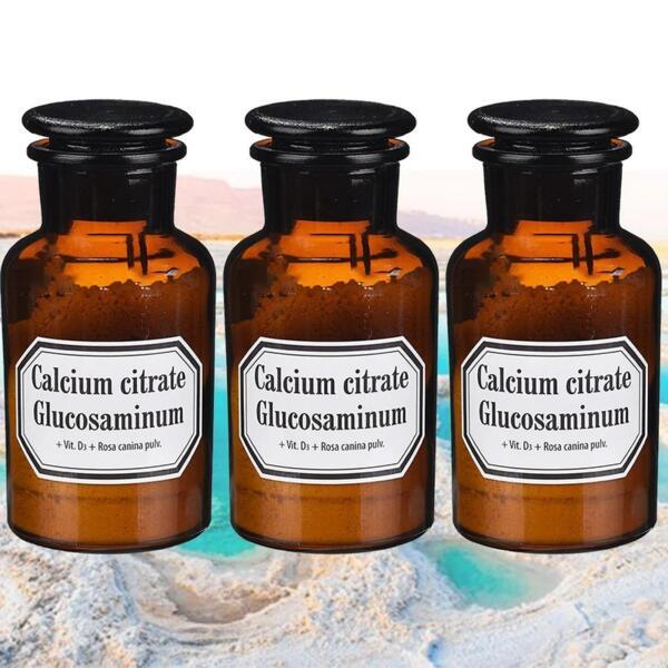 Калциев цитрат, Глюкозамин, Витамин D3 и Екстракт от Шипка - 3x70g
