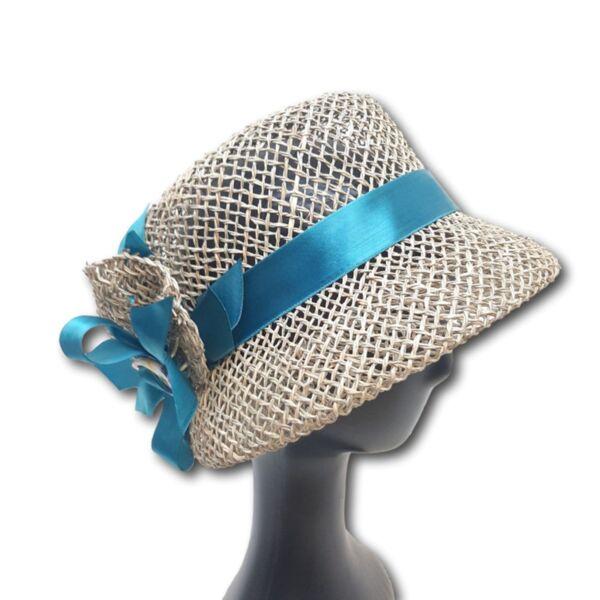 Лятна Дамска шапка от морска трева-Козет