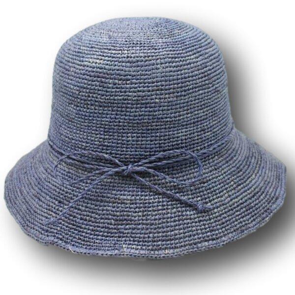 Плажна Дамска шапка с малка периферия от Рафия-Copy