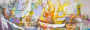 ПОЛЪХ ОТ МОРЕТО: Самостоятелна изложба на ПАРУШ ПАРУШЕВ