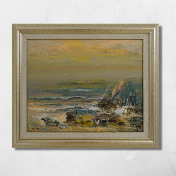 """Картина """"Море и скали"""""""