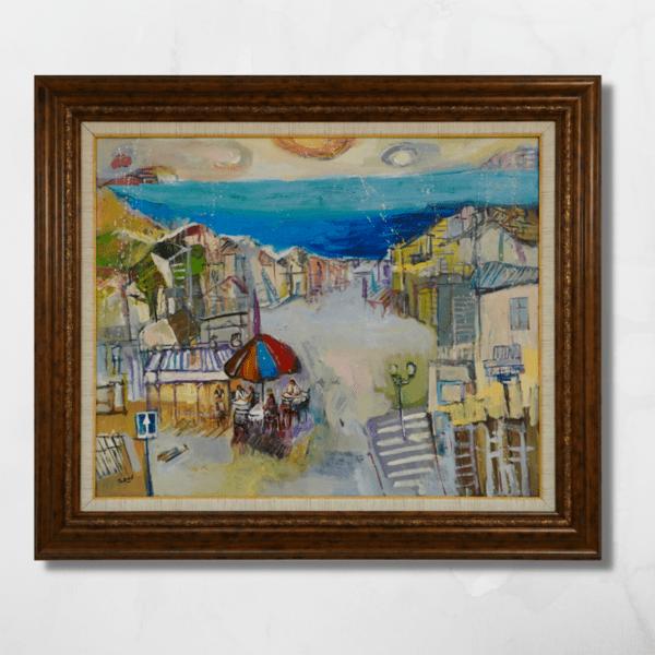 """Картина """"Градски пейзаж"""""""