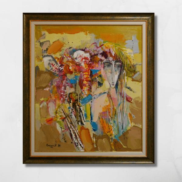 """Картина """"Нимфа с орхидеи IV"""""""