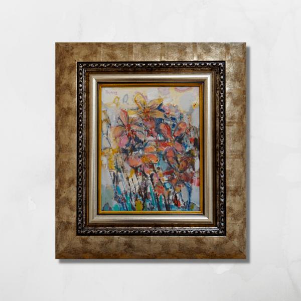 """Картина """"Розови орхидеи"""""""