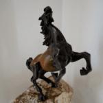 """Скулптура """"Кон Свободен"""" (голям)"""