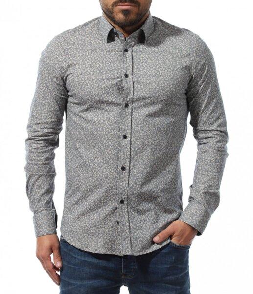Мъжка риза в сив цвят Red Point
