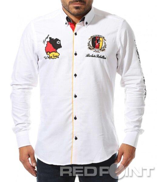 Мъжка риза в бял цвят от Red Point