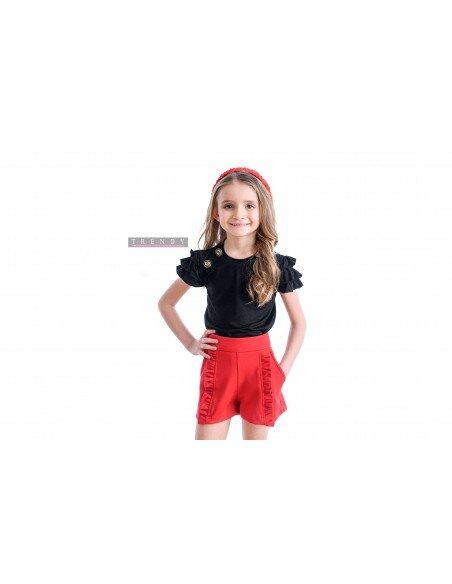 Детска блуза в черен цвят на Trendy